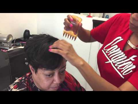 How To Straighten African American Hair Doovi