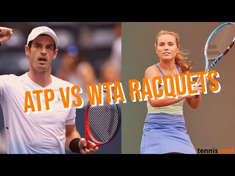 ATP Vs WTA Racquets - What Is The Difference And What Can You Learn From It?