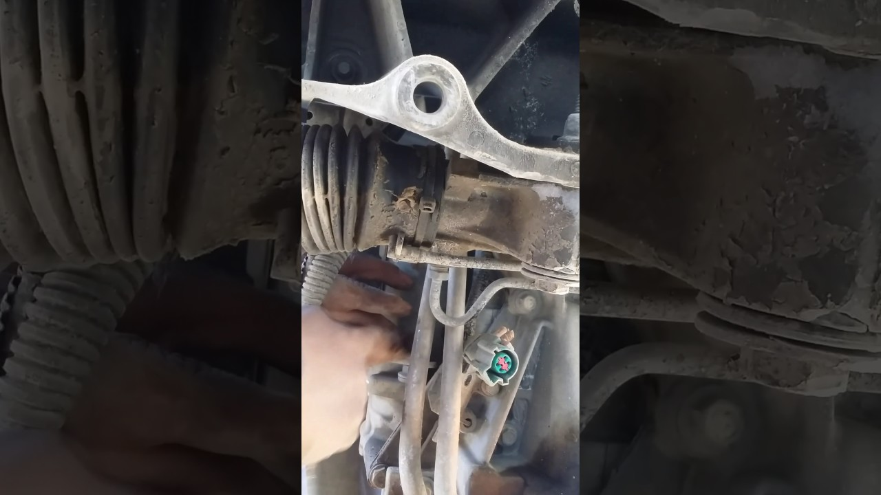 3 9 lincoln ls starter removal [ 1280 x 720 Pixel ]