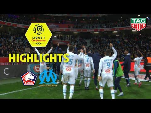 LOSC - Olympique De Marseille ( 1-2 ) - Highlights - (LOSC - OM) / 2019-20