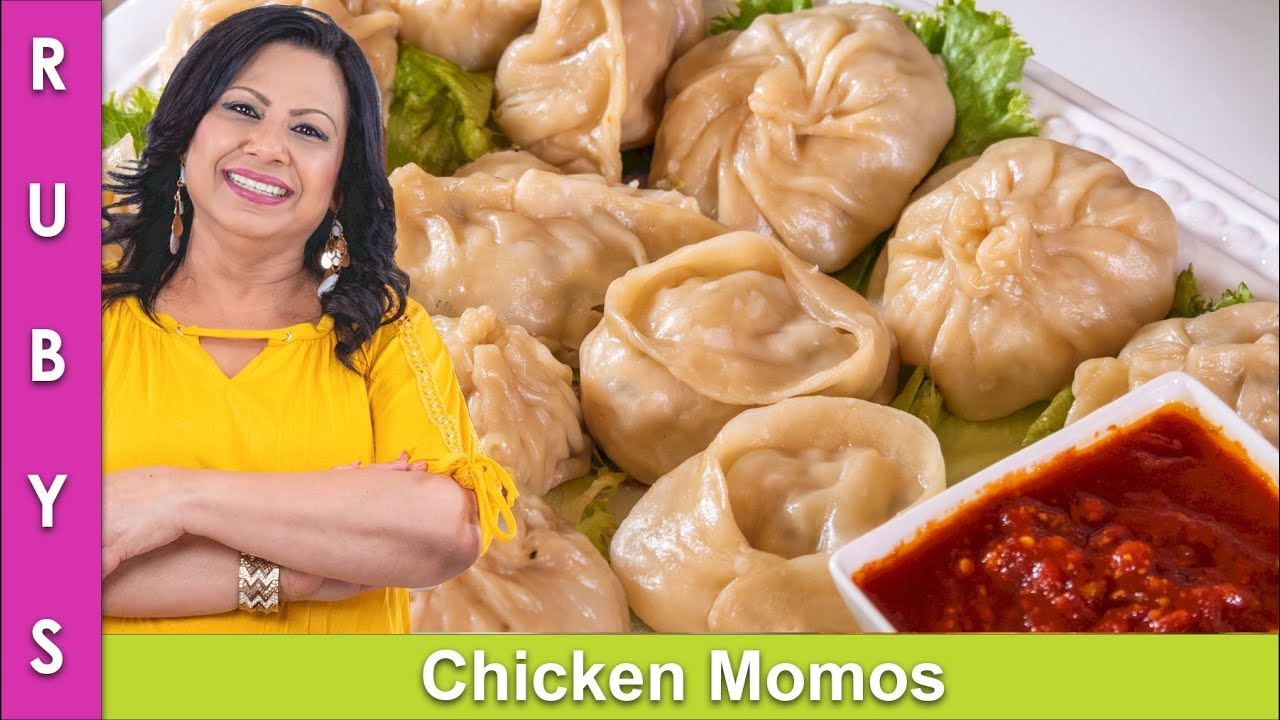 Download Chicken Momos Recipe & How to Wrap Demonstration in Urdu Hindi - RKK