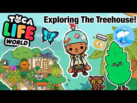 Toca Life World | Exploring the TreeHouse!