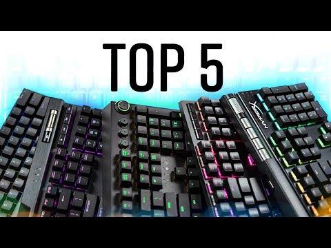 Top 5 Gaming Keyboards 2018!
