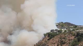 Palisades Fire / Pacific Palisades 10.21.19