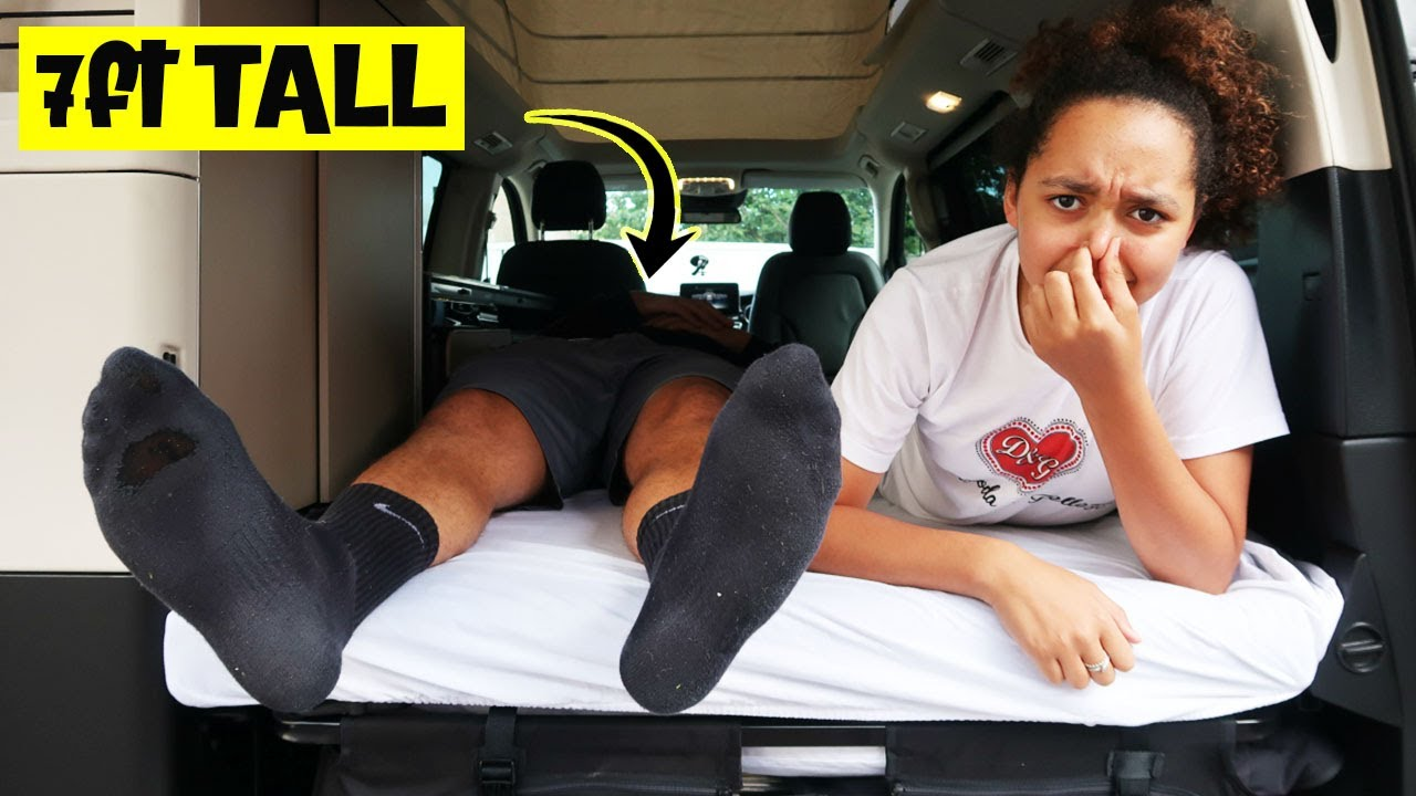 MY BROTHERS BED PROBLEM!! Living In A Tiny House | VAN LIFE