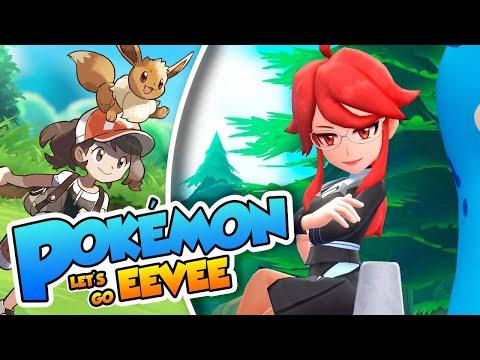 ¡Waifu en el alto mando! - 13 - Pokémon Let's Go Eevee Coop Español (Switch) DSimphony y Naishys