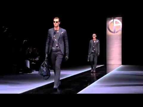Giorgio Armani Men's Fall/Winter 2013 2014 Full Fashion Show.