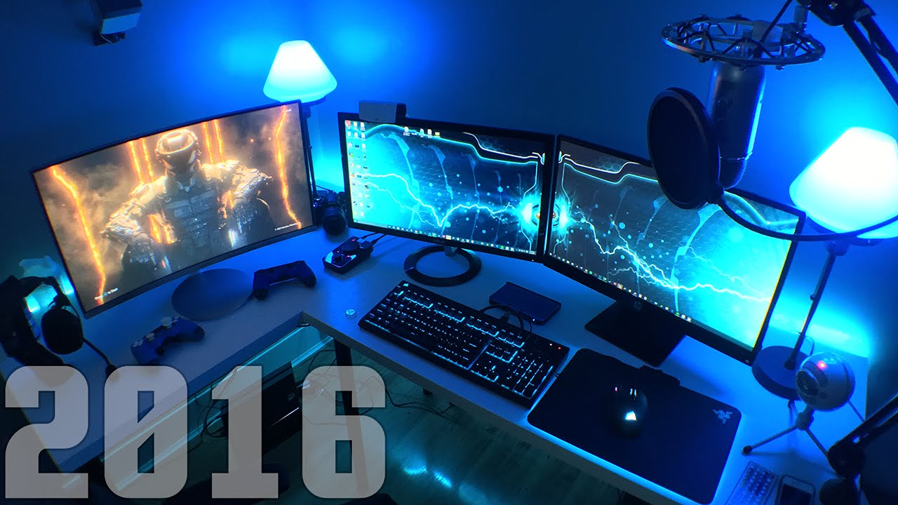 Awesome computer gaming setup - My Awesome Gaming Setup 2016