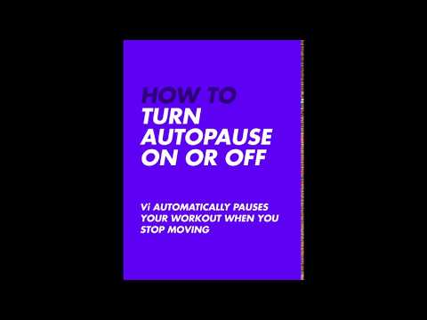 How To: Turn Auto-Pause On Or Off