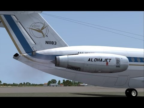 fsx bac 1 11 300 400 spey 511 engine sounds xviews youtube. Black Bedroom Furniture Sets. Home Design Ideas