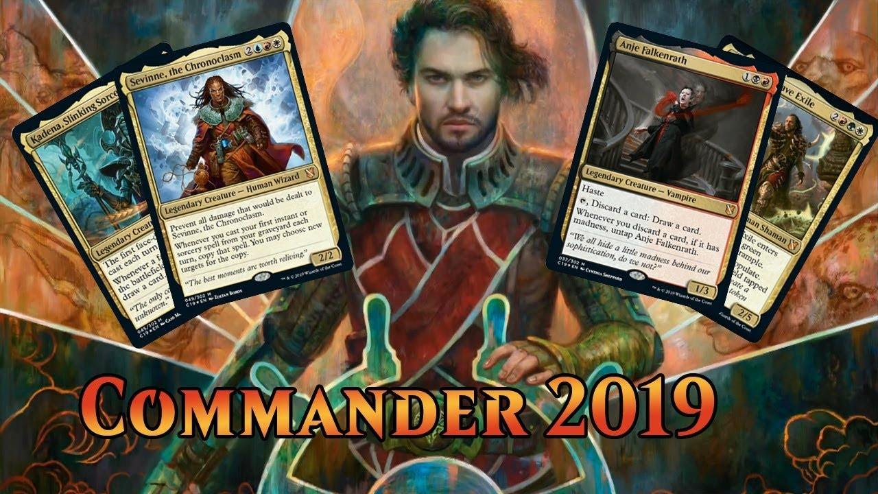 Commander 2019 Spoilers — August 1, 2019 | The Four Commanders