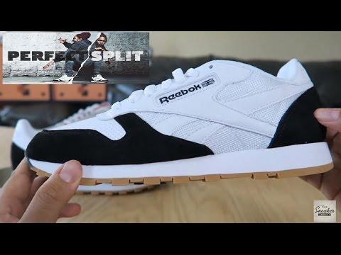 b185b4c1d62 Kendrick Lamar Reebok Classics Perfect Split Personality Sneaker Detailed  Look On Feet - YouTube