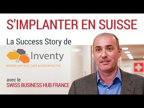 [S'implanter en Suisse #4] - La succes story de Inventy
