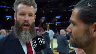 Interview mit Trey Kerby (The Starters), NBA Finals 2018 Game 3   DAZN - NBA
