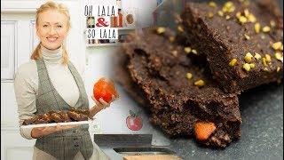 Mega Brownies aus Kürbis * Glutenfrei * Zuckerfrei * Fettfrei * gesund backen
