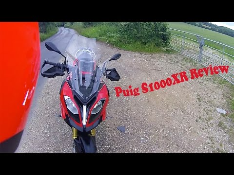 Puig S1000XR Touring Screen Review