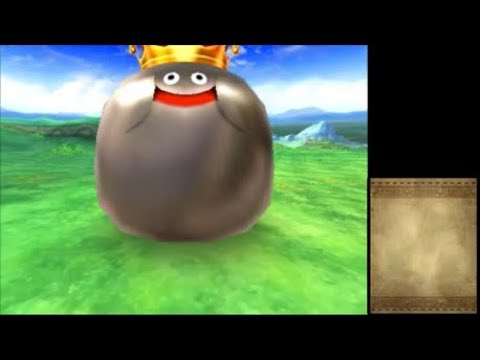 Dragon Quest Vii 3ds Bonus Taming Metal King Slime Youtube