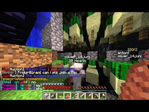 Minecraft Dansk - Faction - Begyndelsen!