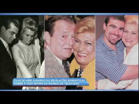 Hora da Venenosa: filho de Hebe Camargo faz revelações sobre a vida da apresentadora