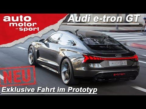 NEU: Audi e-tron GT Concept: Die erste Fahrt! | Fahrbericht (Review) | auto motor und sport