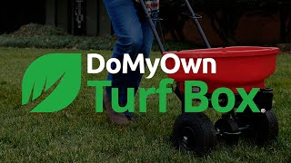 DoMyOwn Turf Box | Customized DIY Lawn Care Program