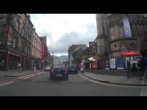 Sunday Drive During The Festival Around Edinburgh Scotland