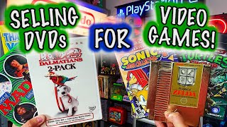 Making $100's on DVD's to Buy Retro Video Games! || $10 Dollar Game Collection Challenge (Episode 5)