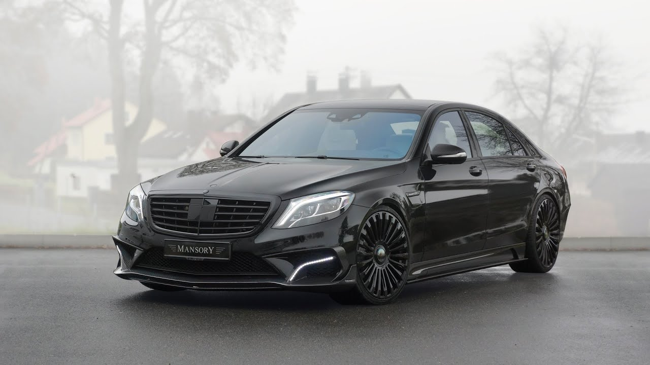 S 63 Amg Wallpaper: 2015 Mansory Mercedes-Benz S63 AMG Interior And Exterior