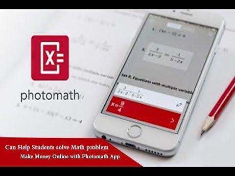 PhotoMath App Can Help Students solve math problem | Make Money Online
