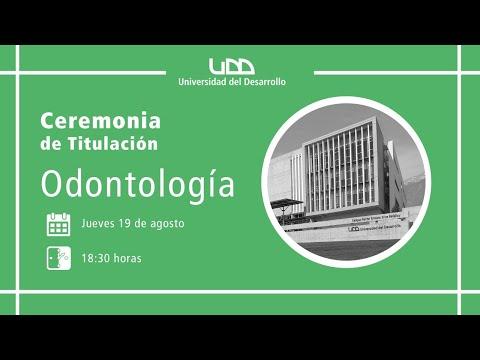 Ceremonia de Titulación | Odontología | Sede Santiago