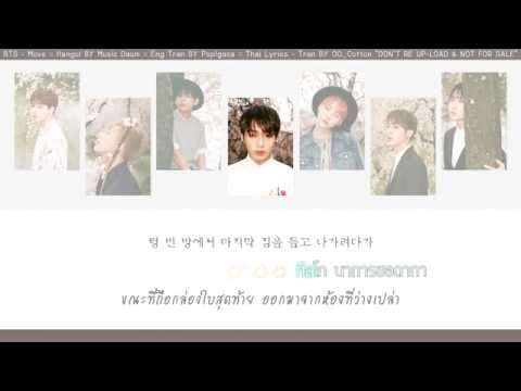 [Karaoke Thaisub] BTS (방탄소년단) - 이사 (Move)