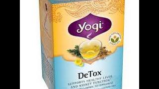 In Review Today... Yogi Detox Tea