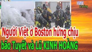 Người Việt ở B,o,s,t,o,n h,ứ,ng ch,ị,u b,ã,o T,u,y,ế,t v,à L,ũ K,I,NH H,O,À,NG  - Donate Sharing