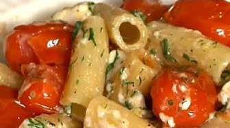 Recipe for Greek-Style Penne With Fresh Tomatoes, Feta & Dill : Greek Recipes