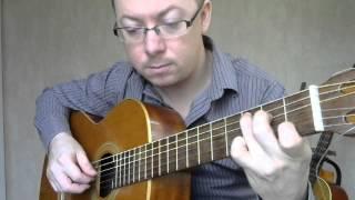 Yesterday на гитаре   Александр Фефелов
