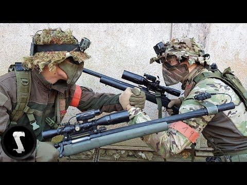 NOVRITSCH vs. SILO ENTERTAINMENT | 1v1 Airsoft Sniper Duel | Part #2