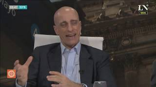 Carlos Pagni, con el presidente la Federación de Iglesias Evangélicas - Odisea Argentina