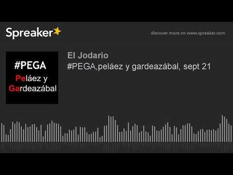 #PEGA,peláez y gardeazábal, sept 21