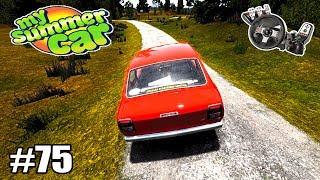 My Summer Car - Rolezão até o Mercadinho Amaciando o Carro! #75 (G27 mod)
