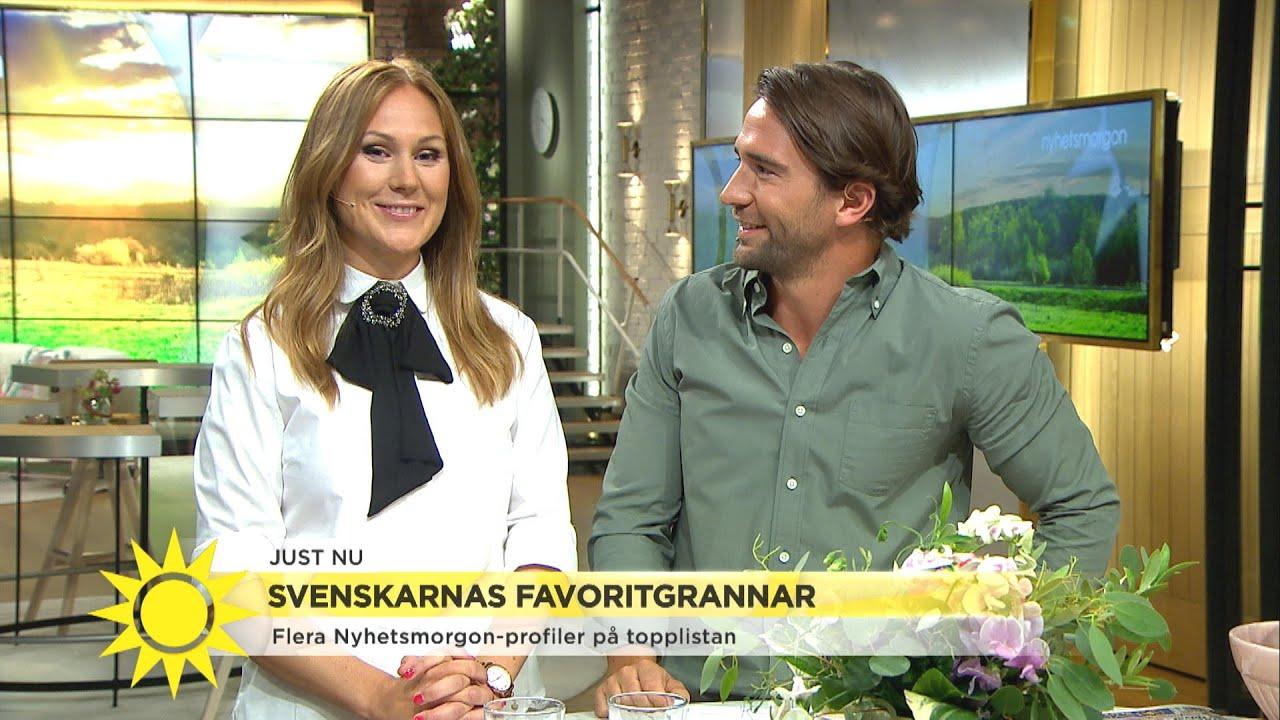Den här Nyhetsmorgonprofilen vill flest svenskar ha som granne! - Nyhetsmorgon (TV4)