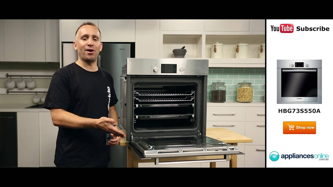 60cm bosch electric wall oven hbg73s550a reviewed by product expert appliances online youtube