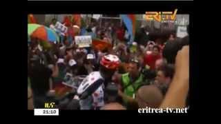 Eritrea TV - Stage 10 Report - Daniel Teklehaymanot loss his Polka Dot Jersey