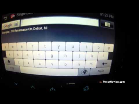 Insignia Intellilink Navi 900 Secret Menu Youtube