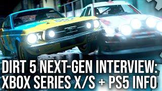 Dirt 5 Next-Gen Interview: Xbox Series X/S, PlayStation 5, 120fps + Much More - PAX x EGX 2020!