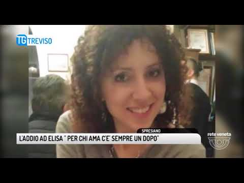 TG TREVISO (30/09/2017) - L'ADDIO AD ELISA : «MAMMA PROTEGGIMI»