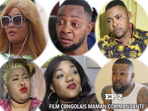 NOUVEAUTE FILM CONGOLAIS MAMAN  COMMANDANTE  ÉPISODE 2