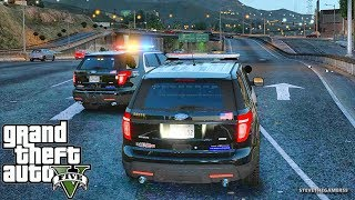GTA 5 MODS LSPDFR 946  - GANG UNIT PATROL!!! (GTA 5 REAL LIFE PC MOD)