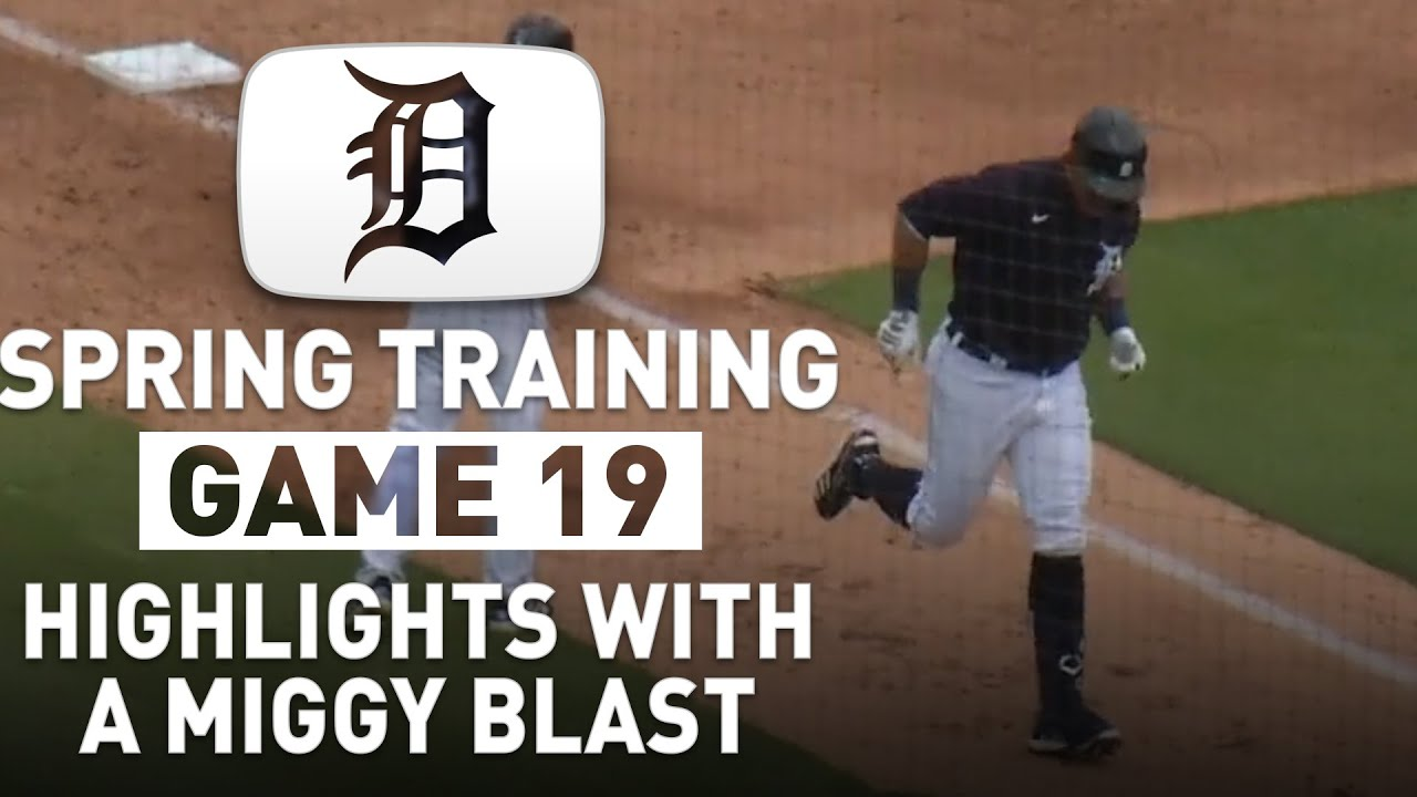 Detroit Tigers Spring Training Highlights Game 19 vs Pirates