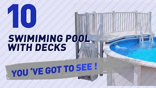 Swimiming Pool With Decks // New & Popular 2017