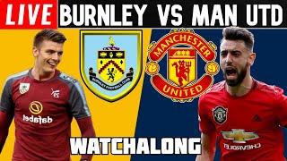 0-1 BURNLEY vs MAN UNITED Full Match Football Watchalong premier league man united vs burnley